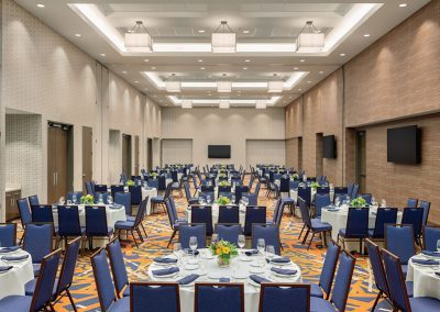 Dining Setup in the Ballroom | Embassy Suites by Hilton | South Jordan